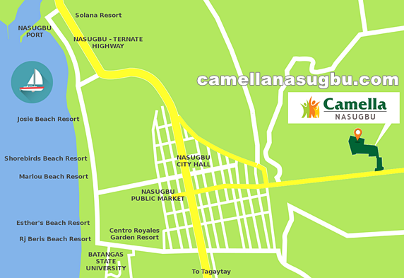 Camella Nasugbu Location and Amenities