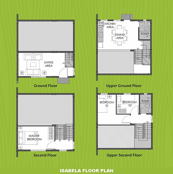 Isabela Floor Plan House and Lot in Nasugbu