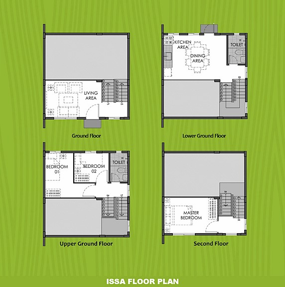 Issa Floor Plan House and Lot in Nasugbu